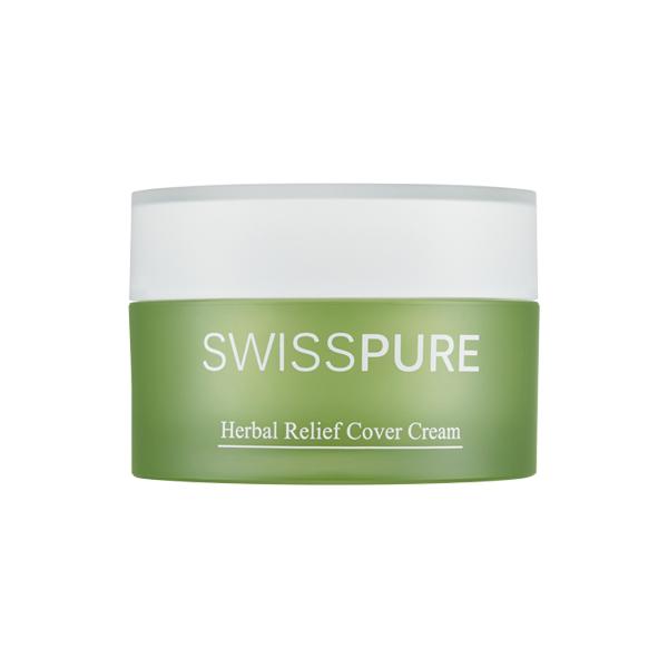[스위스퓨어]  허벌 릴리프 커버 크림 SPF30/PA++