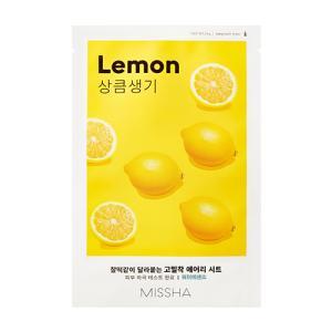 [미샤] 에어리 밀착 시트마스크 [레몬]