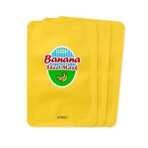 [어퓨] (3장 묶음) 꿀 먹은 바나나 시트 마스크