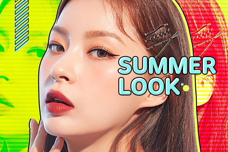 2019 SUMMER LOOK_어퓨가 제안하는 올 여름 메이크업룩