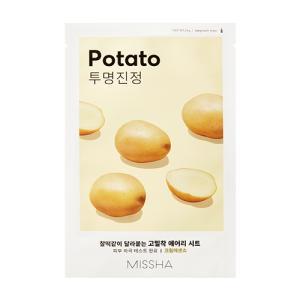 [미샤] 에어리 밀착 시트마스크 [감자] 19g