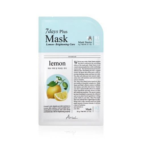 [아리얼] 7days Plus 마스크팩 [레몬] 23g