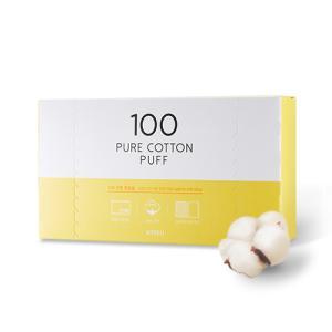 [어퓨] 100 코튼 화장솜 100매