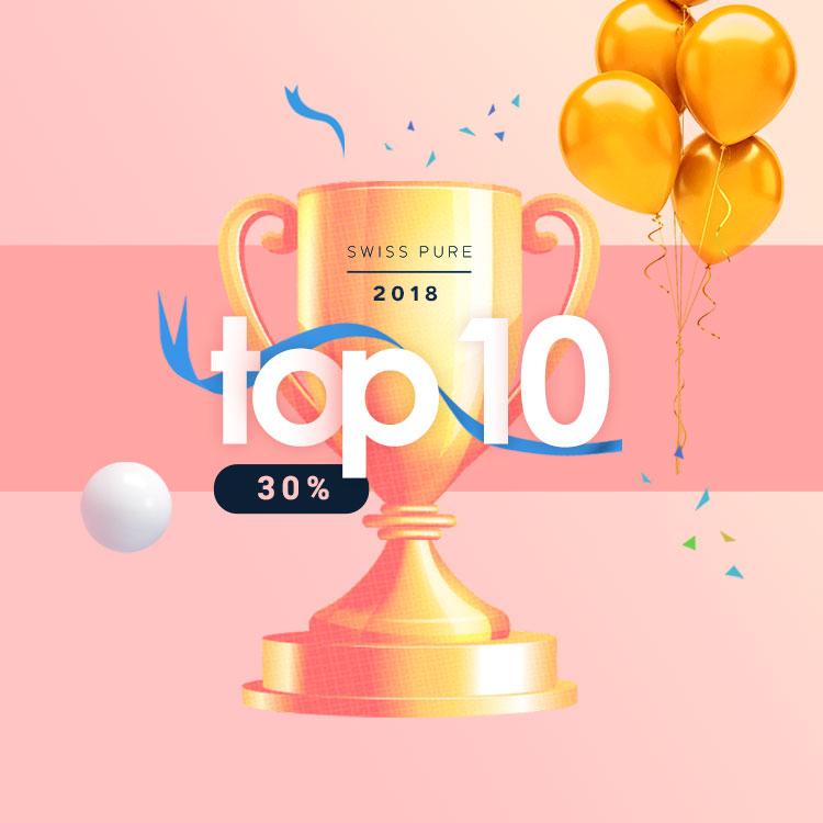 GOOD BYE 2018 스위스퓨어 인기상품 30%